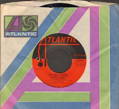 Franklin, Aretha - The Thrill Is Gone/Spirit In The Dark (with Atlantic company sleeve)(bb) - NM9/ - 45 rpm Records