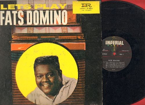 Domino, Fats - Let's Play Fats Domino: Margie, I'm Gonna Be A Wheel Some Day, I Want To Walk You Home (vinyl MONO LP record) - VG7/VG7 - LP Records