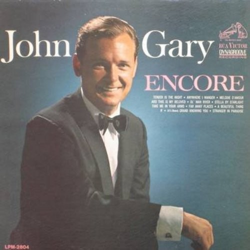 Gary, John - Encore: Ol' Man River, Starnger In Paradise, Melodie D'Amour, Stella By Starlight (Vinyl MONO LP record) - NM9/VG7 - LP Records