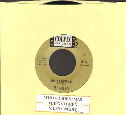 Gatemen - White Christmas/Silent Night (with juke box label) - EX8/ - 45 rpm Records