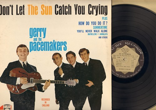 Gerry & The Pacemakers - Don't Let The Sun Catch You Crying: How Do You Do It?, Jambalaya, You'll Never Walk Alone, Maybellene, Summertime (Vinyl MONO LP record) - VG7/VG7 - LP Records