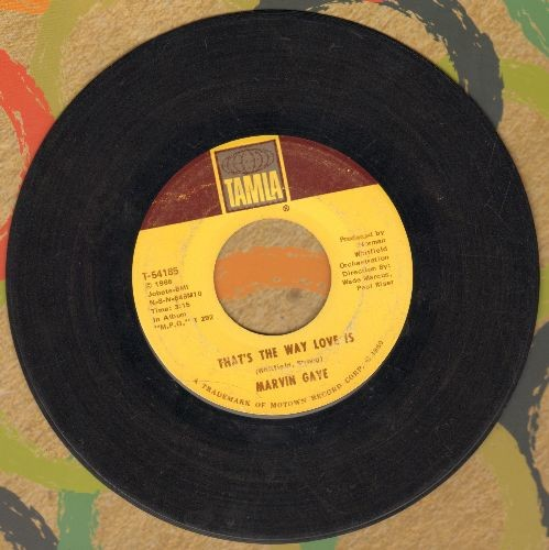 Gaye, Marvin - That's The Way Love Is/Gonna Keep On Tryin'  - VG7/ - 45 rpm Records
