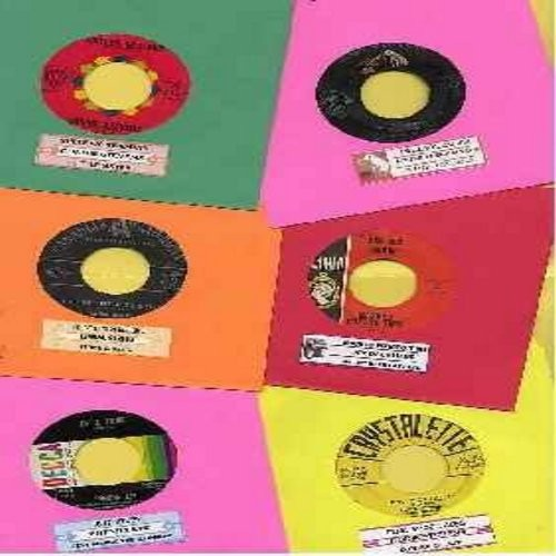 Lee, Brenda, Little Peggy March, Linda Scott, Dee Dee Sharp, Connie Stevens, Dodie Stevens - Juke Box Special: 6 Original 45rpm records featuring Teen-Oriented 1950's & 60s US Top 40 Chart Hits! All records are the original artists with their hit versions