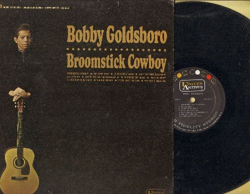 Goldsboro, Bobby - Broomstick Cowboy: Let It Be Me, Voodoo Woman, You Don't Know Me, Blue On White (vinyl STEREO LP record) - VG7/VG7 - LP Records
