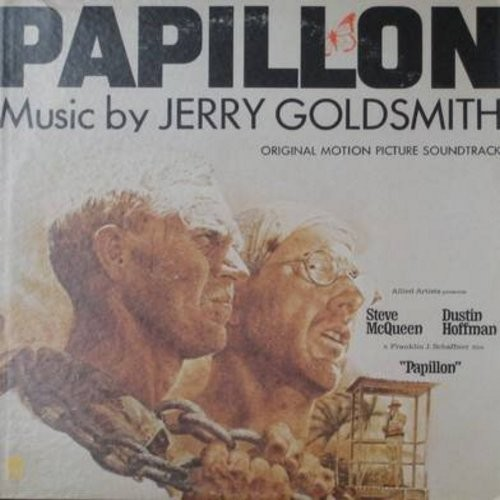 Golsmith, Jerry - Papillion - Original Motion Picture Sound Track (Vinyl STEREO LP record) - NM9/EX8 - LP Records