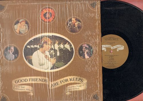 Morath, Max, Dinah Shore, Vikki Carr, others - Good Friends Are For Kepps - 100the Year Celebration Album - America Sings Of The Telephone (vinyl LP record, shrink-wrap) - NM9/NM9 - LP Records