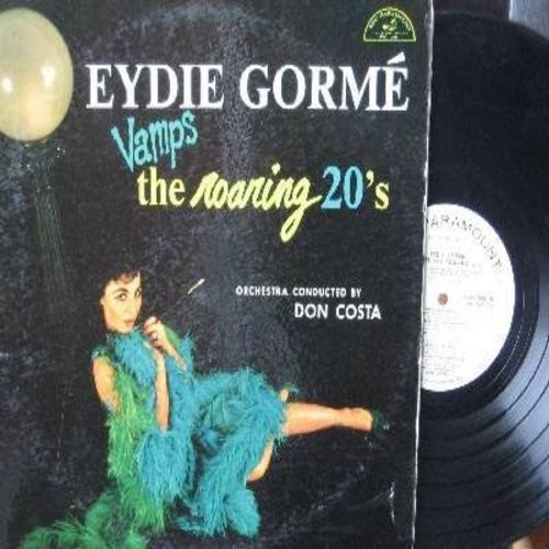 Gorme, Eydie - Eydie Gorme Vamps The Roaring 20's: Who's Sorry Now?, Toot Toot Tootsie Goodbye, Chicago, I Wanna Be Loved By You, Let's Do It, My Buddy (Vinyl MONO LP record, DJ advance pressing) - NM9/EX8 - LP Records