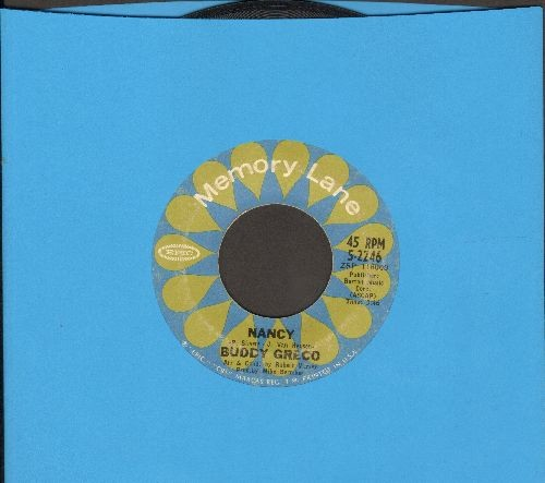 Greco, Buddy - Nancy/I Wish You Love (double-hit re-issue) - VG7/ - 45 rpm Records