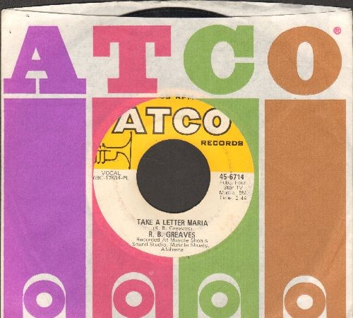 Greaves, R.B. - Take A Letter Maria (Definitive VEGAS SOUND!)/Big Bad City (with Atco company sleeve) - NM9/ - 45 rpm Records