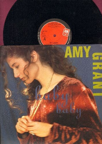 Grant, Amy - Baby Baby (Heart In Motion Mix)/Baby Baby (Not Getting Over You Mix)/Lead Me On (12 inch vinyl Maxi Single, British Pressing with picture cover) - NM9/NM9 - Maxi Singles