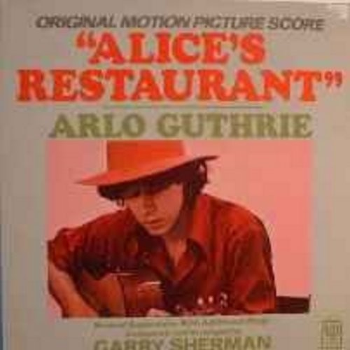 Guthrie, Arlo - Alice's Restaurant: Original Motion Picture Score (Vinyl LP record) - M10/EX8 - LP Records