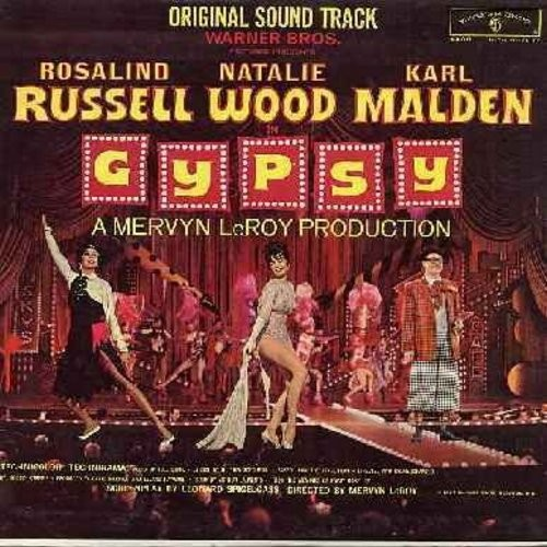 Gypsy - Gypsy: Original Motion Picture Sound Track - Includes songs Some People, If Mama Was Married, Everything's Coming Up Roses, Let Me Entertain You, Small World, more!  (Vinyl MONO LP record) - NM9/NM9 - LP Records