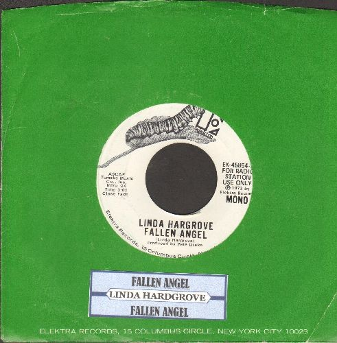 Hardgrove, Linda - Fallen Angel (double-A-sided DJ advance pressing with juke box label and company sleeve) - NM9/ - 45 rpm Records