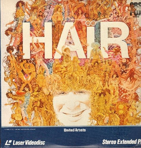Hair - Hair - LASER DISC version of the 1979 Hollywood treatment of te Broadway Hit. (This is a LASER DISC, not any other kind of media!) - NM9/NM9 - LaserDiscs