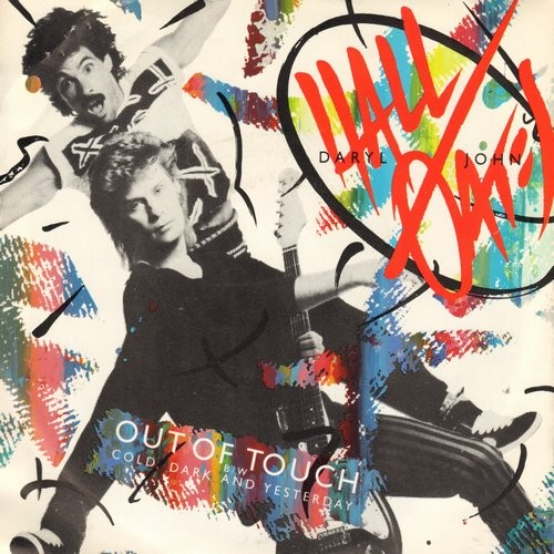 Hall & Oates - Out Of Touch/Cold, dark And Yesterday (with picture sleeve) - NM9/EX8 - 45 rpm Records