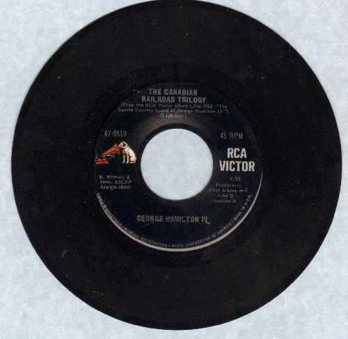 Hamilton, George IV - The Canadian Railroad TrilogyIt's My Time - VG7/ - 45 rpm Records