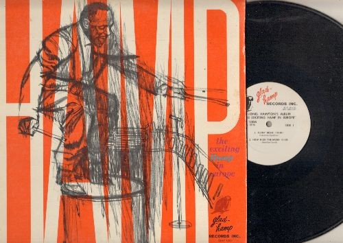 Hampton, Lionel - The Exciting Hamp In Europe: Flyin' Home, How High The Moon, Mr. John, Mr. -J- (vinyl MONO LP record) - NM9/VG7 - LP Records