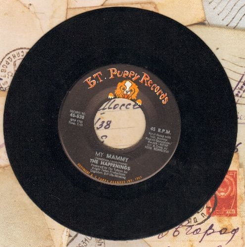 Happenings - My Mammy/I Believe In Nothing  - EX8/ - 45 rpm Records