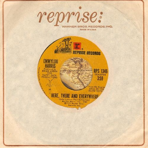 Harris, Emmylou - Here, There And Everywhere/Together Again (with vintage Reprise company sleeve) - NM9/ - 45 rpm Records