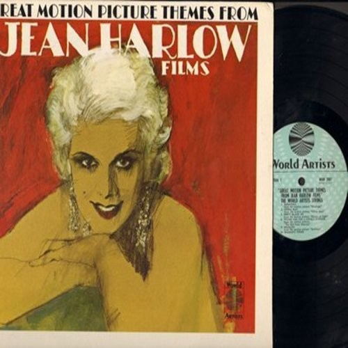 World Artists Strings - Great Motion Picture Themes From Jean Harlow Films (Vinyl MONO LP record, NICE Cover Art!) - NM9/NM9 - LP Records