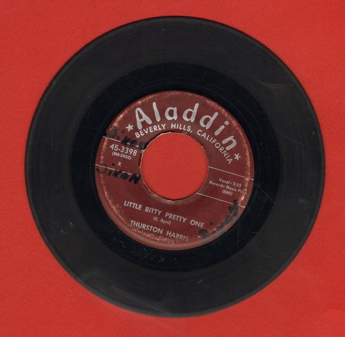 Harris, Thurston - Little Bitty Pretty One/I Hope You Won't Hold It Against Me - G5/ - 45 rpm Records