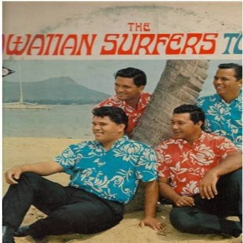 Hawaiian Surfer - The Hawaiian Surfers Today: One Paddle-Two Paddle, Yesterday, Born Free, A Million Dreams Ago, Jailer Bring Me Water (Vinyl STEREO LP record) - EX8/VG7 - LP Records