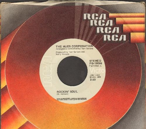 Hues Corporation - Rockin' Soul/Go To The Poet (with RCA company sleeve) - NM9/ - 45 rpm Records