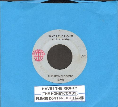 Honeycombs - Have I The Right?/Please Don't Pretend Again (with juke box label) - EX8/ - 45 rpm Records