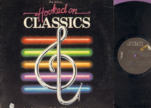 Clark, Louis & Royal Philharmonic Orchestra - Hooked On Classics: Disco Version of Classical Hits (Vinyl Stereo LP Record) - NM9/EX8 - LP Records