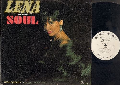 Horne, Lena - Soul: I Got A Worried Man, Unchained Melody, What The World Needs Now, Love Bug, A Taste Of Honey (Vinyl MONO LP record, DJ advance pressing) - NM9/VG7 - LP Records