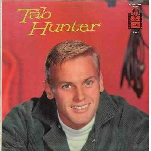 Hunter, Tab - Tab Hunter: My Baby Just Cares For Me, I'll Never Be Free, Candy, I Ain't Got Nobody, Funny, But Beautiful (Vinyl MONO LP record, gray label first isue) - NM9/NM9 - LP Records