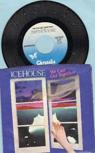 Icehouse - We Can Get Together/Not My Kind (with picture sleeve) - NM9/NM9 - 45 rpm Records