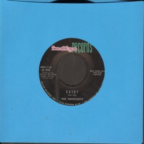 Innocents - Kathy/In The Beginning - VG7/ - 45 rpm Records