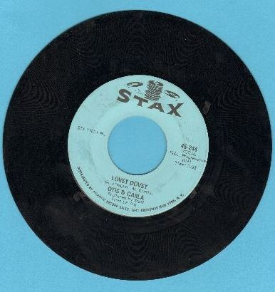 Otis & Carla - Lovey Dovey/New Year's Resolution - VG7/ - 45 rpm Records