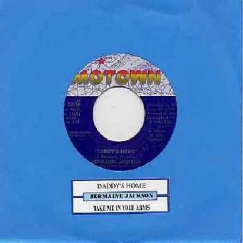 Jackson, Jermaine - Daddy's Home/Take Me In Your Arms (with juke box label) - NM9/ - 45 rpm Records