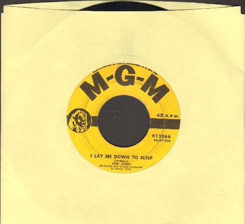 James, Joni - I Lay Me Down To Sleep/You Are My Love (yellow label first issue) - EX8/ - 45 rpm Records