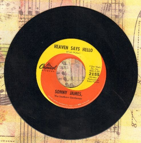 James, Sonny - Heaven Says Hello/Fairy Tales - EX8/ - 45 rpm Records