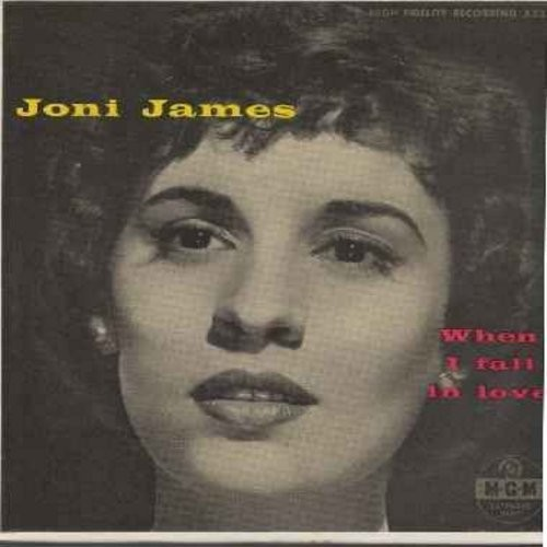 James, Joni - When I Fall In Love: To Each His Own/I've Never Been In Love Before/Embraceable You/I Could Write A Book/Don't Blame Me/My One And Only Love/As Time Goes By (2 vinyl EP records with picture cover) - NM9/NM9 - 45 rpm Records