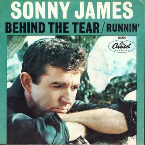 James, Sonny - Behind The Tear/Runnin' (with picture sleeve) - M10/EX8 - 45 rpm Records