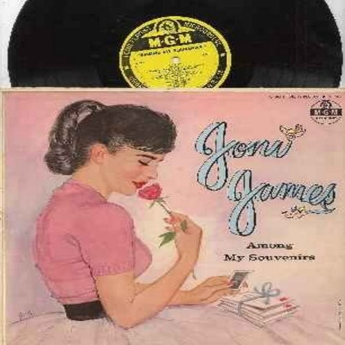 James, Joni - Among My Souvenirs: Let Me Call You Sweetheart, Always, Greensleeves, The Anniversary Song, Together, Lullaby (Vinyl MONO LP rcord, yellow label first issue) - VG7/VG7 - LP Records