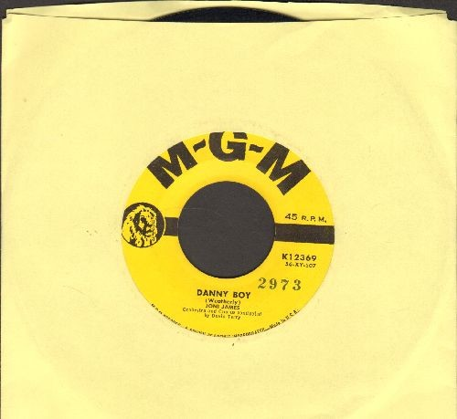 James, Joni - Danny Boy/To You I Give My Heart  - EX8/ - 45 rpm Records