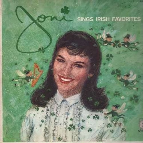 James, Joni - Joni Sings Irish Favorites: Too-Ra-Loo-Ra-Loo-Ral (That's An Irish Lullaby), How Are Things In Glocca Morra, Molly Malone, Danny Boy, Rose Of Tralee (Vinyl MONO LP record) - NM9/NM9 - LP Records