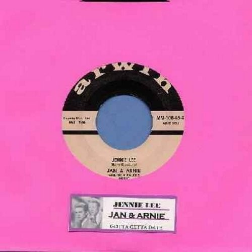Jan & Arnie - Jennie Lee/Gotta Getta Date (with juke box label) - EX8/ - 45 rpm Records