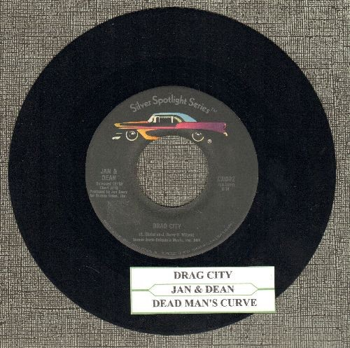 Jan & Dean - Drag City/Dead Man's Curve (re-issue with juke box label) - NM9/ - 45 rpm Records