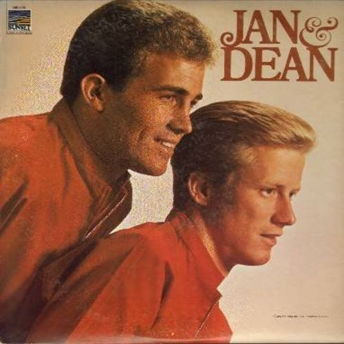 Jan & Dean - Jan & Dean: Poor Little Puppet, Who Put The Bomp, She's My Summer Girl, Walk On The Wild Side, A Surfer's Dream (Vinyl MONO LP record) - EX8/EX8 - LP Records