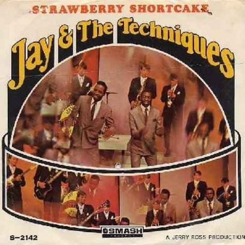 Jay & The Techniques - Strawberry Shortcake/Still In Love With You (with picture sleeve) - EX8/VG7 - 45 rpm Records