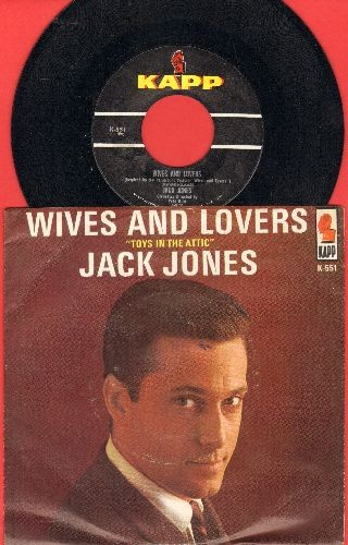 Jones, Jack - Wives And Lovers/Toys In The Attic - NM9/EX8 - 45 rpm Records