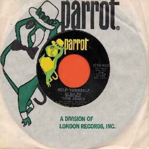 Jones, Tom - Help Yourself/Day By Day (with Parrot company sleeve) (bb) - NM9/ - 45 rpm Records