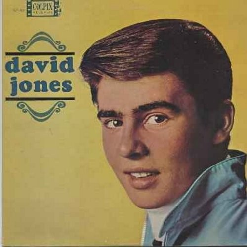 Jones, David - David Jones: It Ain't Me Babe, Baby It's Me, My Dad, Dream Girl, What Are We Going To Do (Vinyl LP record) - NM9/NM9 - LP Records