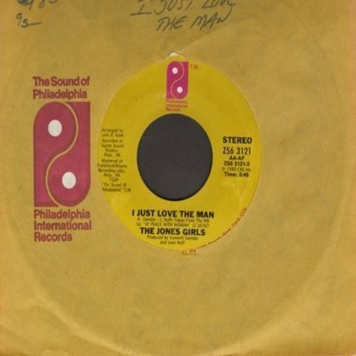 Jones, Jimmy - That's When I Cried/I Just Go For You (with picture sleeve, tear in upper right corner of sleeve) - EX8/VG6 - 45 rpm Records